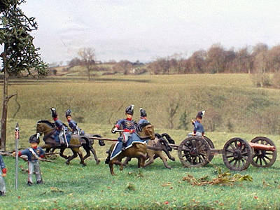 Waterloo diorama