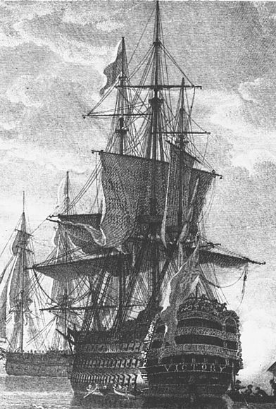 Admiral Nelson's HMS Victory